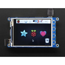 "PiTFT Plus 320x240 3.2"" TFT Resistive touchscreen"