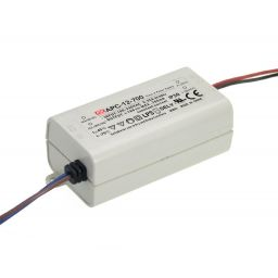 AC-DC Single output LED driver Constant Current (CC); Output 700mA at 9-18Vdc.