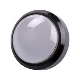 Grote dome LED drukknop wit D: 100mm - Arcade