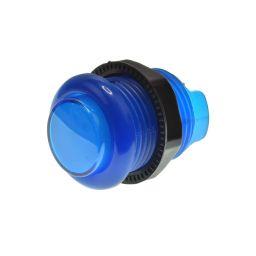 Lichtgevende arcade drukknop 30mm blauw