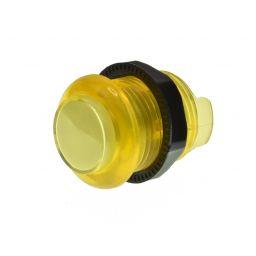 Lichtgevende arcade drukknop 30mm geel