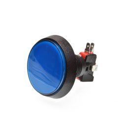 Grote Arcade LED drukknop D: 60 mm - blauw