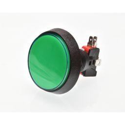 Grote Arcade LED drukknop D: 60 mm - groen