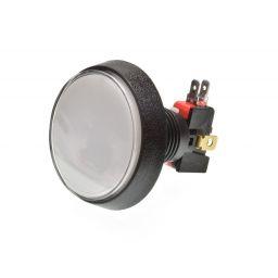 Grote Arcade LED drukknop D: 60 mm - wit