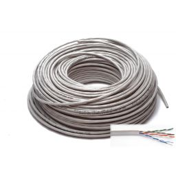 UTP100 - 4x2/0,5 twisted pairs 100m CAT5E unshielded