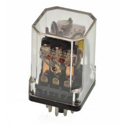 Industriële Relais 3PDT 12VDC 10A/250VAC  ***