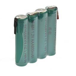 NiMH batterijpack 3,6V - 800 mAh - 40 x 45 x 10mm -