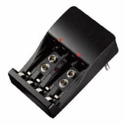 Universele batterijlader voor AA, AAA en 9V batterijen