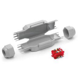 Gelbox BETTY4 voor 4mm² 145x46x35mm - IPX8