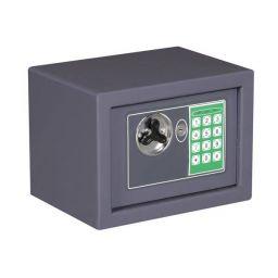 Elektronische kluis - 23 x 17 x 17 cm - Grijs