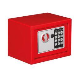 Elektronische kluis - 23 x 17 x 17 cm - Rood