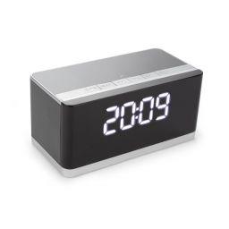 XM013 - Draadloze mini hifi-luidspreker met klok - AUX + FM + USB + Micro-SD