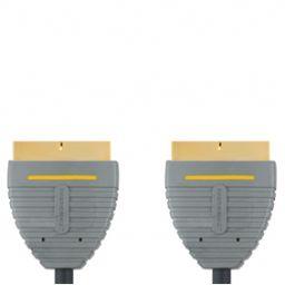 Scart-kabel - Scart male  scart male - 2 meter