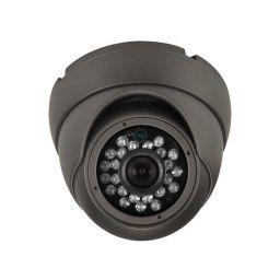 Analoge camera - gebruik buitenshuis - dome - IR - 1000 tv-lijnen - Sony exmor