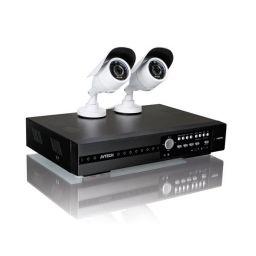 XM022 - HD-bewakingssysteem met 4 kanalen en 2 IR-camera's