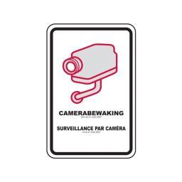 CCTV waarschuwingsbord BELGIE