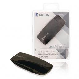 Kaartlezer Alles-in-1 USB 3.0 Zwart ***