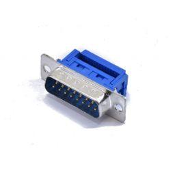 SUB-D connector - 15-polig - Mannelijk - Flatcable - HQ