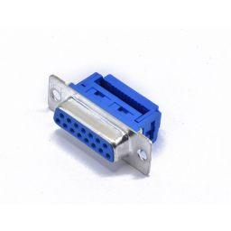SUB-D connector - 15-polig - Vrouwelijk - Flatcable - HQ