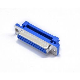 SUB-D connector - 25-polig - Vrouwelijk - Flatcable - HQ