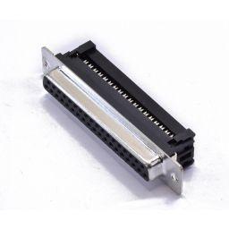 SUB-D connector - 37-polig - Vrouwelijk - Flatcable - HQ