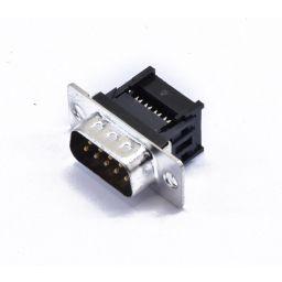 SUB-D connector - 9-polig - Mannelijk - Flatcable - HQ