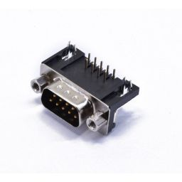 SUB-D connector - 9-polig - Mannelijk - Printmontage - Haaks - HQ