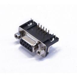SUB-D connector - 9-polig - Vrouwelijk - Printmontage - Haaks - HQ