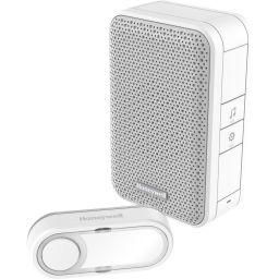 Draadloze deurbel met drukknop - Wit - Honeywell