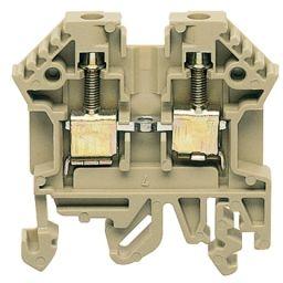 PTR doorvoer aansluiting met schroefaansluiting 2,5mm²