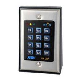 Verlicht veiligheidstoetsen- bord met EM kaartlezer DK2821