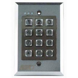 Metalen veiligheidstoetsenbord - Waterdicht IP66 - inbouw