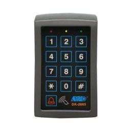 Verlicht, weerbestendig veiligheidstoetsenbord DK2865