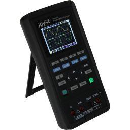 Draagbare 3-in1 oscilloscoop, functiegenerator en multimeter