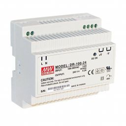 Industriële voeding voor DIN-RAIL - Meanwell 24V 100W
