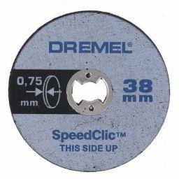 DREMEL-S409JB  Speedclic dunne snijschijven 5 pack