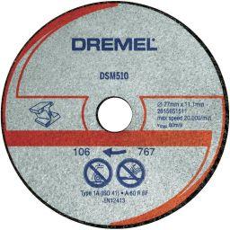 DREMEL-S510  Metaal doorslijpschijf S510    voor DSM20 3stuks