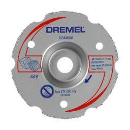 DREMEL-S600  Multifunctionele carbide       snijschijf voor DSM20