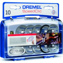 DREMEL-S690     EZ SpeedClic snij-accessoireset.