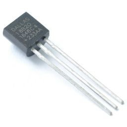 Temperatuur sensor 9...12 Bit 1-Wire +-0,5°C TO92 -55…+125°C