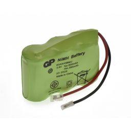 Accu voor draadloze telefoon - 3,6V 600mAh - 42x30x14mm