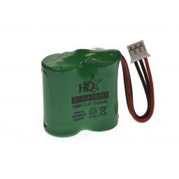 Batterij 2,4V 300mAh voor draadloze telefoon