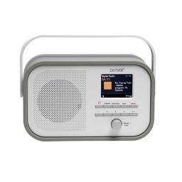 XM039 - DAB-40black - DAB+/FM -radio met DAB-slideshow - Grijs