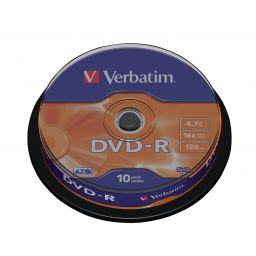 DVD-R - 4,7GB - 10 stuks