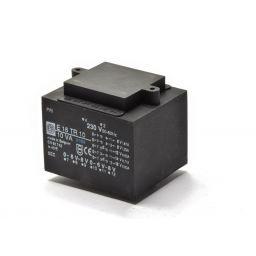 Printtransformator 10VA 2x(0-6-8)V