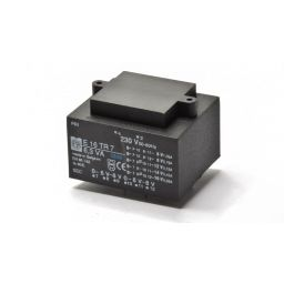 Printtransformator 7VA 2x(0-6-8)V