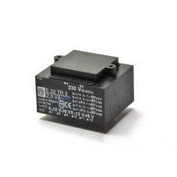 Printtransformator 3VA 2x(0-12-16)V