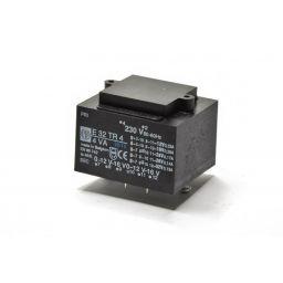 Printtransformator 4VA 2x(0-12-16)V
