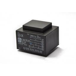 Printtransformator 16VA 4x(0-9)V