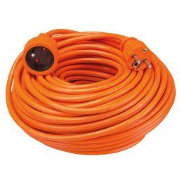 Verlengkabel 40m oranje